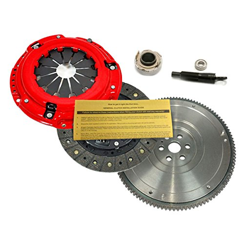 Oe Flywheel - EFT SPORT 1 CLUTCH KIT & OE FLYWHEEL for 89-91 HONDA CIVIC CRX 1.5L 1.6L D15 D16