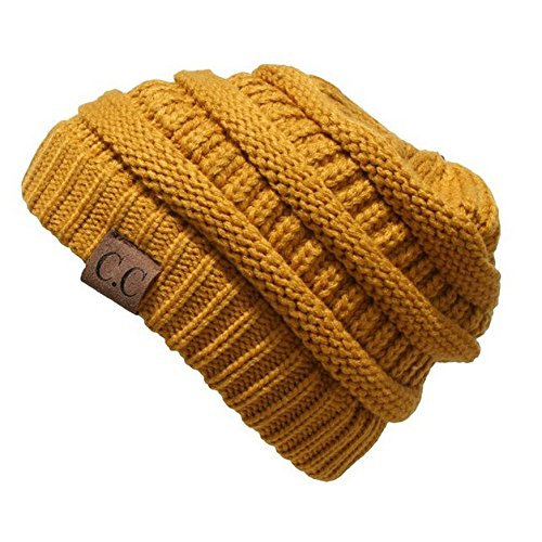 Crane Clothing Co. Women's Classic CC Beanies One Size Mustard by Crane Clothing Co. (Image #1)