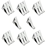 Tablecloth Clips Stainless Steel Table Cloth Holder Clamps Wedding Party Supply Pack of 20