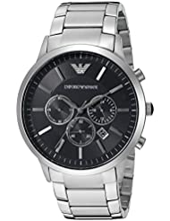 Emporio Armani Mens AR2460 Dress Silver Watch