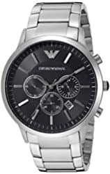 Emporio Armani Men's AR2460 Sportivo Stainless Steel Bracelet Watch