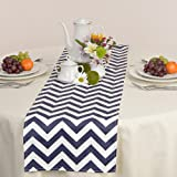 Appleberry Attic Chevron Table Runner Collection (Blue) Handmade in USA