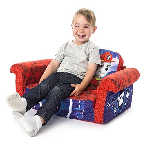 51NkJvy6e0L - Marshmallow Furniture, Children's 2 in 1 Flip Open Foam Sofa, Nickelodeon Paw Patrol, by Spin Master