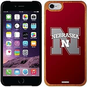 Coveroo iphone 6 4.7 Madera Wood Thinshield Case with Nebraska Watermark Design
