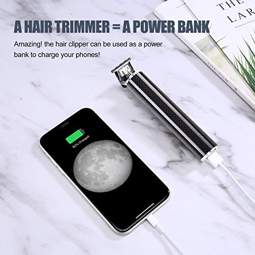Pro Li Outliner Grooming Kit T Outliner Cordless Close Cutting T-Blade Trimmer for Men Electric USB Rechargeable Hair Clipper Beard Trimmer for Home Barber