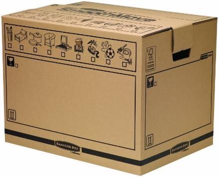 Fellowes Bankers Box - Caja de almacenaje (tamaño grande, 5 ...