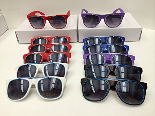Unisex Sunglasses Wholesale Assorted Color 12 - Elegance Eyewear