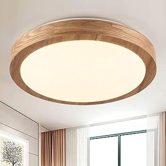 CBJKTX LED Deckenleuchte Deckenlampe dimmbar mit der Fernbedienung ...