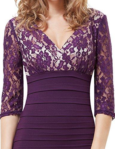 Ever-Pretty HE03783PP08 - Vestido para mujer Morado