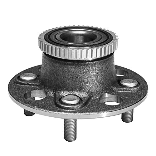 TUCAREST 512175 Rear Wheel Bearing and Hub Assembly Compatible With 2001 2002 2003 2004 2005 Honda Civic (4-Wheel ABS;EX Models Only) 01-05 Acura EL [4 Lug W/ABS]