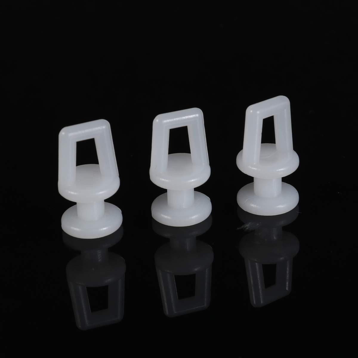 Goolsky 100 Pezzi Fermagli di Fissaggio per Auto Corpo Rivetti in plastica Elementi di Fissaggio Spingere Le Viti del Pannello di Rivestimento della Porta del paraurti con Lo Strumento di rimozione