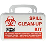 Pac-Kit by First Aid Only 6021 21 Piece Spill Clean-Up Kit with Weatherproof Plastic Case