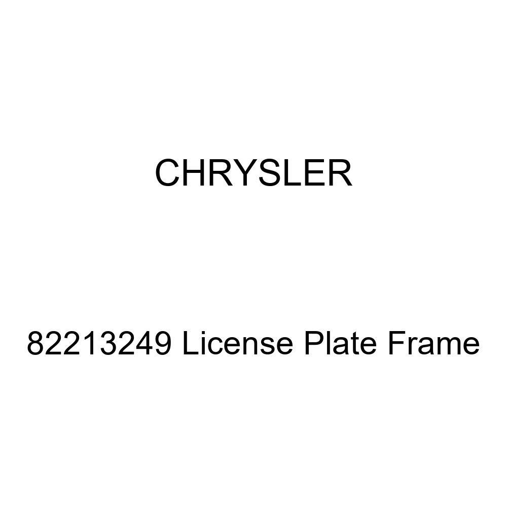 Chrysler Genuine 82213249 License Plate Frame