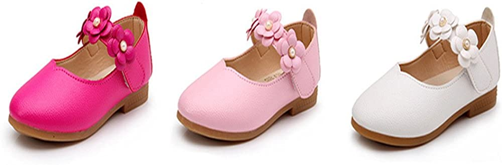 Weiyun Children Shoes Girl Fashion Flower Kid Shoes Solid All Match Casual Shoes