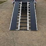 Titan 7-ft-10-in L x 54-in W Aluminum ATV and