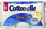 Cottonelle Clean Care Toilet Paper, Double Roll (6 Rolls)