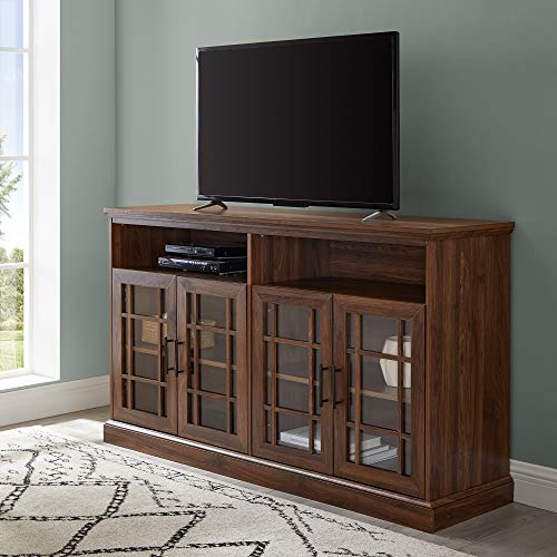 - WE Furniture AZ584DHDHBDW TV Stand, 58