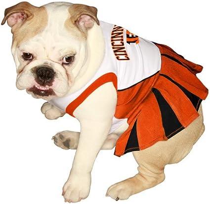 Pets First Cincinnati Bengals Cheerleader Dog Dress
