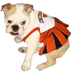 Pets First NFL Chicago Bears Dog Cheerleader Dress, X-Small