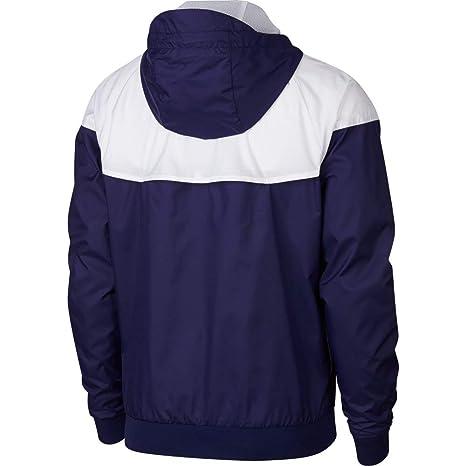 Nike 2018 2019 PSG Authentic Windrunner Jacket (Navy)