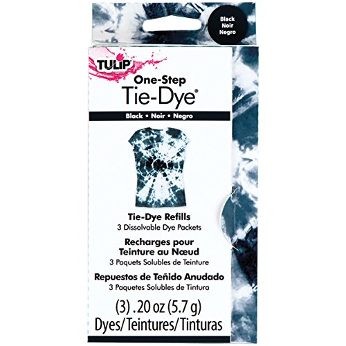 UPC 017754290380, Tulip One-Step Dye Refills Black