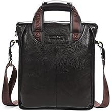 BOSTANTEN Leather Handbag Briefcase Messenger Business Work Bags For Men