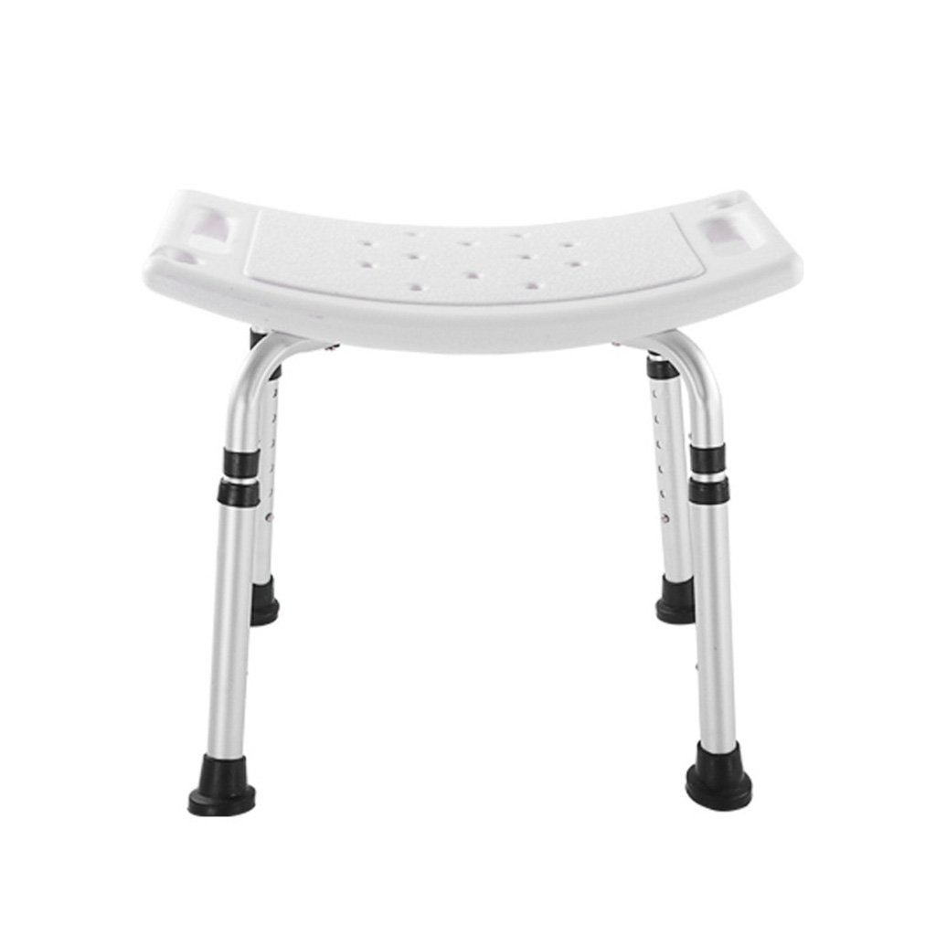 Bedside Commodes Bathroom height adjustable shower chair bathroom stool with armrests anti-slip bath stool for the elderly and children load-bearing 158KG