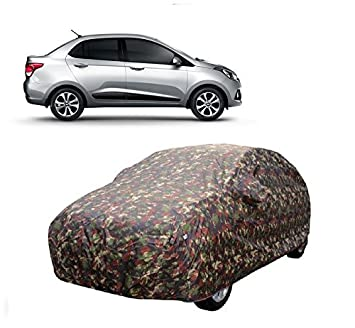 Motrox Car Body Cover For Hyundai Xcent With Side Mirror Pocket