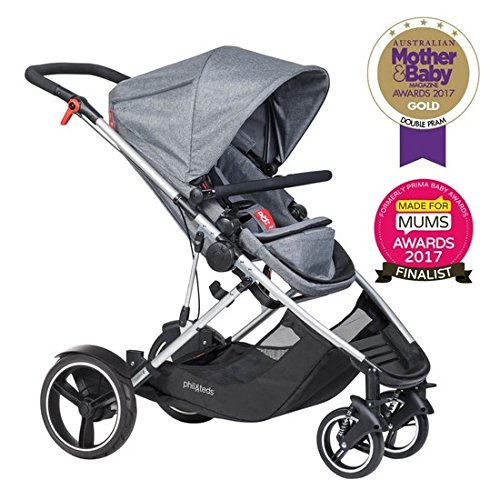 Phil and Teds Voyager Stroller (Grey Marl)