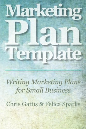 Marketing Plan Template Writing Business product image