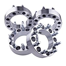 """4pcs 2"""" Ford 8x6.5 Wheel Spacers Adapters for 9/16"""" Studs 1988-1997 F350"""