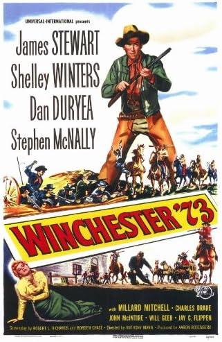 Amazon.com: Winchester '73 Movie Poster (27 x 40 Inches - 69cm x 102cm) ( 1950) -(James Stewart)(Shelley Winters)(Stephen McNally)(Dan  Duryea)(Millard Mitchell)(John McIntire): Prints: Posters & Prints