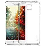 PES Exclusive Soft Silicone tpu-new Transparent Clear Case Soft Back Case Cover With Original Packaging Kit For Samsung Galaxy Alpha