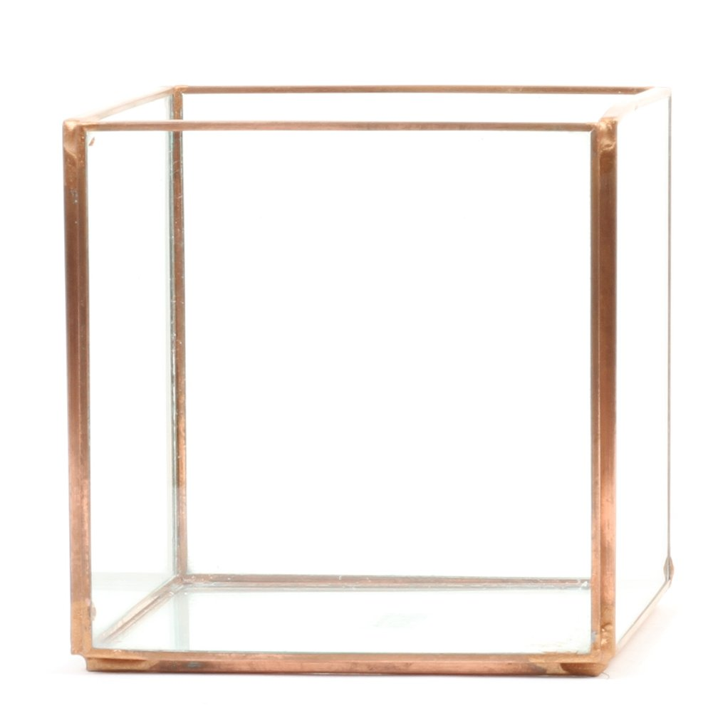 Koyal Wholesale Geometric Terrarium Glass Table Decoration Planter
