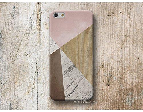 Marbre rosa bois Print Coque Étui Phone Case pour Samsung Galaxy S9 S8 Plus S7 S6 Edge S5 S4 mini A3 A5 J3 J5 J7 Note 9 8 5 4 Core Grand Prime