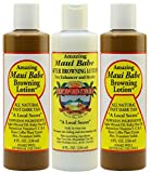 Maui Babe Tanning Pack (2 Browning Lotions 8 oz, 1 After Browning Lotion 8 oz) by Maui Babe