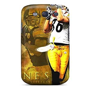 Durable Protector Case Cover With Pittsburgh Steelers Hot Design For Galaxy S3 by Maris's Diary