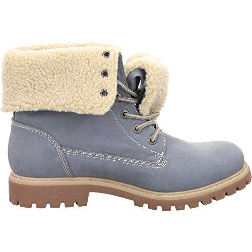 Bleu Tailor Pour 3790104 Femme Tom Jeans Bottes wgfxpYnnqH
