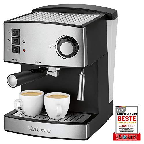 Clatronic ES 3643 – Cafetera Espresso 15 Bares