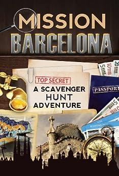 Mission Barcelona Scavenger Adventure Travel ebook product image