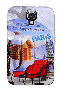 LzUJcTM5735uoWdS New Premium Flip Case Cover Christmas Skin Case For Galaxy S4 As Christmas's Gift