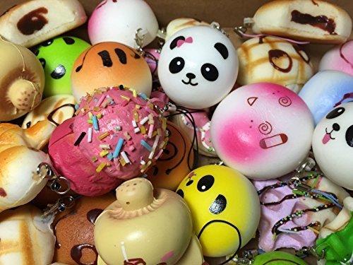 Squishy Uae : CharmsLOL Variety of 5 Squishy Charms Pack in Dubai - UAE Whizz Miniatures