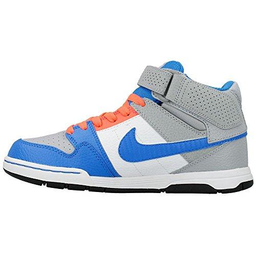 Nike - Mogan Mid 2 JR B - Color: Azzuro-Grigio - Size: 36.0
