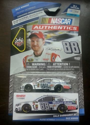 NASCAR Authentics, Race Winners, Dale Earnhart Jr. International National Guard Die-Cast Car, 1:64 Scale (National Guard Diecast)