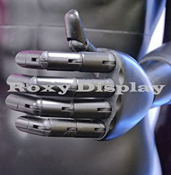 ROXYDISPLAY/™ Female Mannequin Flexible Head MZ-FM01-S arms and Legs with Wooden Articulated Hands.
