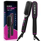 Hair Straightener Brush, Hair Straightening Comb
