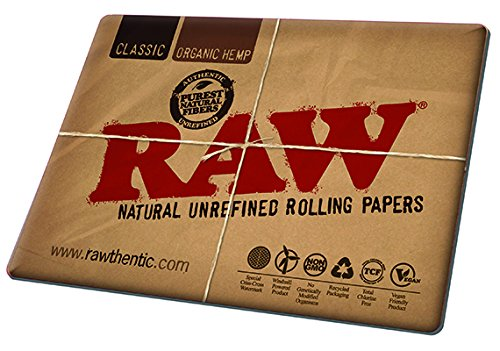 RAW Natural Rolling Papers - Counter Change Mat Large - Desk Mouse Pad - Cigar Rolling Papers Large