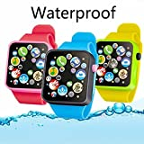 Kids Smart Watch with Music Player Touch Screen for Boys Girls Education Learning Specifications: Material: ABS Type: Music Watch Toys Battery: Button Battery Color: Yellow, Blue, Red Feature: Length adjustable. Suitable age: More than 2 years Strap ...