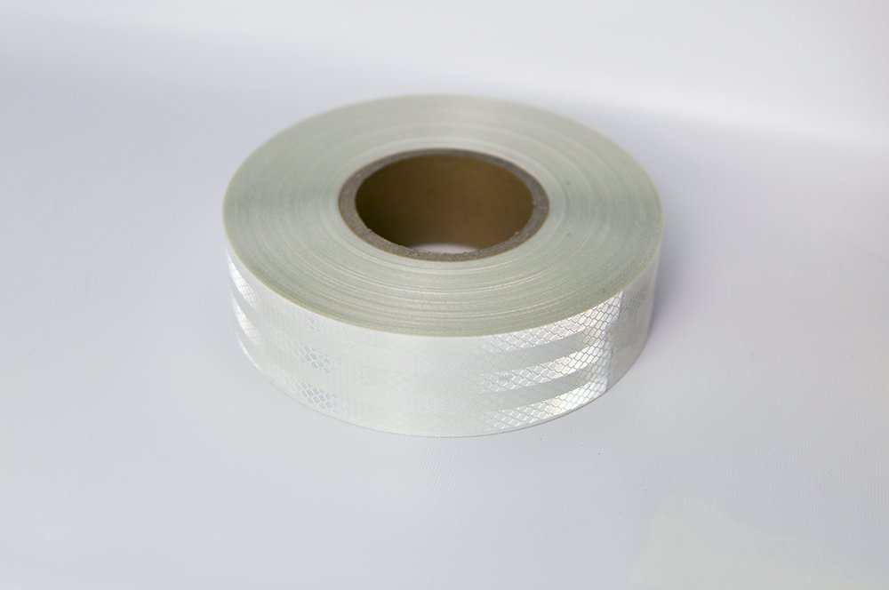 Laps of Luxury Imported 50.8 mm (2 Inches) Reflective Tape - 3.65 Meter (12 Ft.) White Strip product image