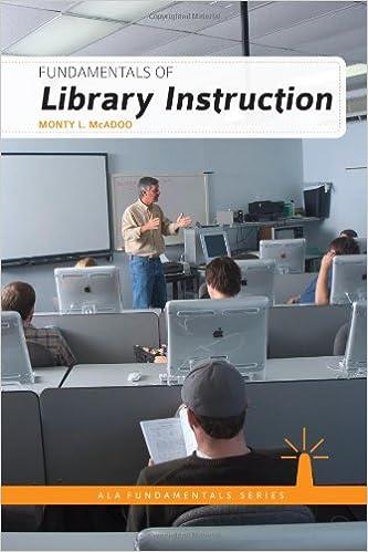 Amazon Fundamentals Of Library Instruction Ala Fundamentals